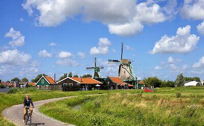 Biking around Amsterdam, North Holland, the Netherlands. Flickr:Francesca Cappa