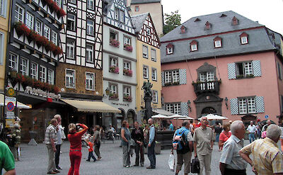 Marktplatz in Cochem, Germany. Flickr:Romantikgeist