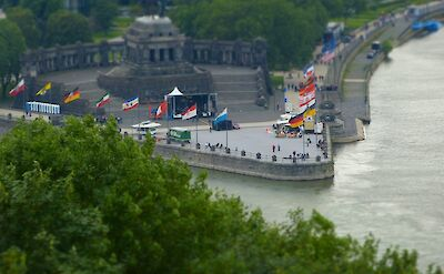 The Rhine & Mosel Rivers join in Koblenz, Germany. Flickr:Matthias Nagel