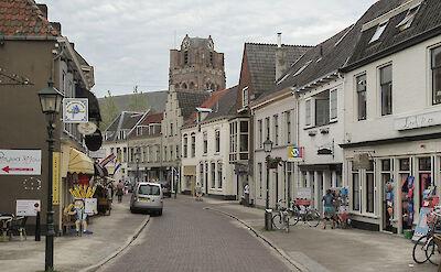 Biking through Wijk bij Duurstede, the Netherlands. CC:Michiel Verbeek