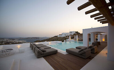 Mykonos Villa Bsv Sunset