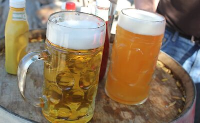 Beer steins in Germany, of course! Flickr:Quinn Dombroski