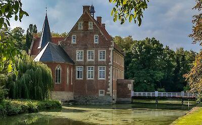 Burg Hulshoff in Münsterland, Germany. Flickr:Muensterland