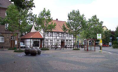 Marktplatz in Dattlen, Germany. CC:Stahlkocher