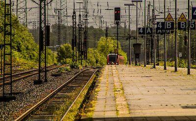 Train in Gelsenkirchen, Germany. Flickr:Onur Köklük