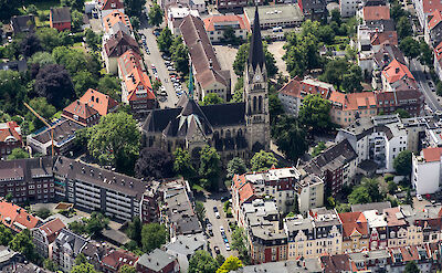 Heilig-Kreuz-Kirche, Münster, Germany. CC:Dietmar Rabich