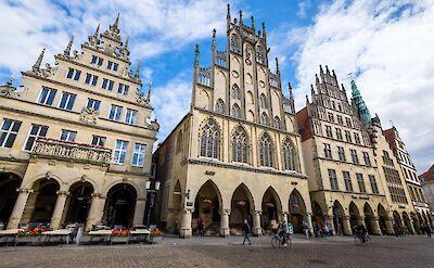 Rathaus in Münster, Germany. Flickr:Allan Harris