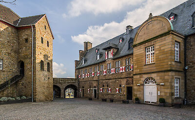 Schloss Broich in Mülheim, Germany. CC:Tuxyso