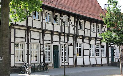 Great architecture in Werne, Germany. Flickr:Goultard