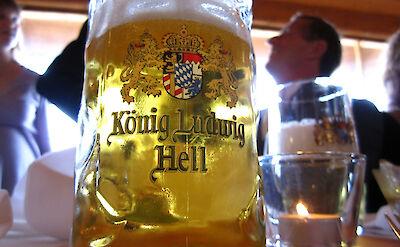Lots of beer steins to try in Germany! Flickr:Leon Brocard