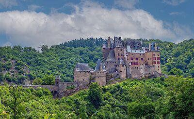 Burg Eltz, medieval castle along the Mosel River near Koblenz, Germany. Flickr:Frans Berkelaar