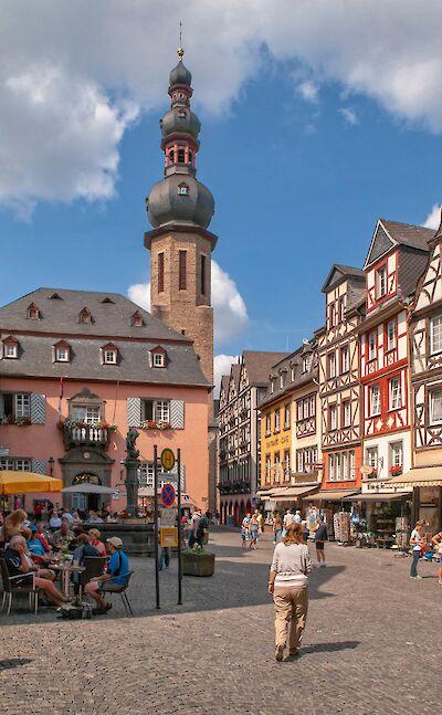 Shopping in Cochem, Rhineland-Palatinate, Germany. Flickr:Frans Berkelaar
