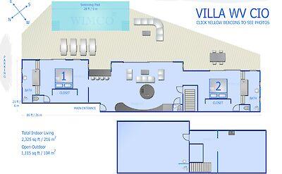 Vacation Rental St Barthelemy WV CIO Villa St Barts Villa Cioico Desktop