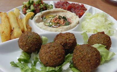 Falafel is a favorite in Israel! Flickr:young uhanahan