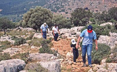Hiking the hills of Galilee in Israel. Flickr:Rosewoman