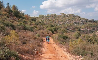 Hiking the serene countryside of Israel. Flickr:RG in TLV