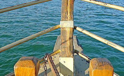 Sailing on the Sea of Galilee, Israel. Flickr:Dennis Jarvis