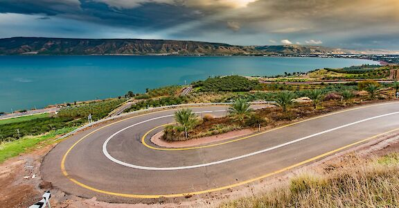Sea of Galilee, Israel. Flickr:Andrew Goldis 32.87705, 35.620422