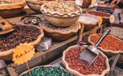 Spices for sale in Israel. Unsplash:Christian Burri