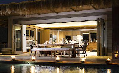Mangrove Beach Villa Dinner