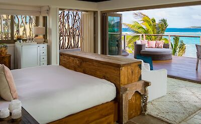 Mangrove Villa Master Suite Balcony