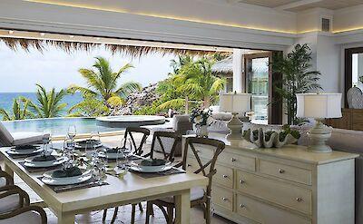 Beach Villa Lunch