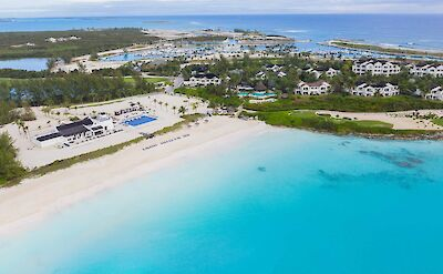 Aerial Resort Beach