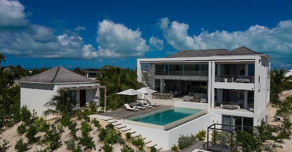 Beach Enclave Villa 3 Drone 1