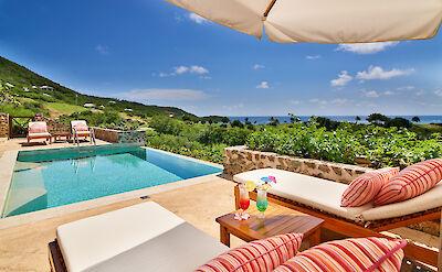 Villa 1 Pool Deck
