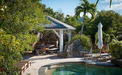 Eden Rock Villa Rental Pool Deck