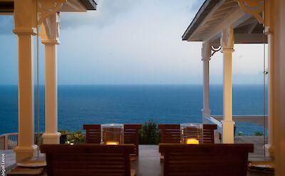 Eden Rock Villa Rental Dining View