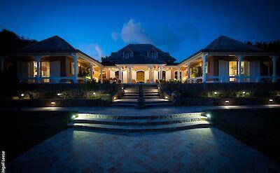 Eden Rock Villa Rental Entrance