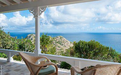 Eden Rock Villa Rental Terrace
