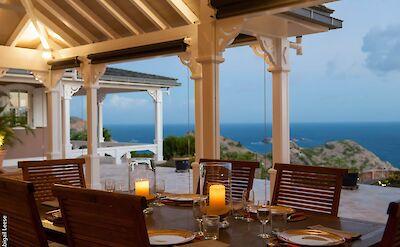 Eden Rock Villa Rental Dining Table