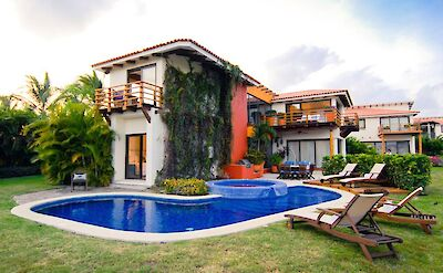 Rear Of Home With Pool