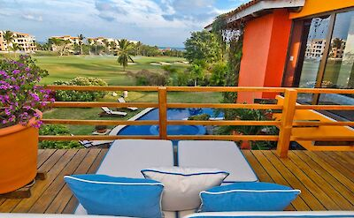 Master Bedroom Balcony Golf Course And Ocean View
