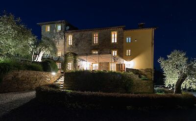Front Of The House By Night 1 Copia