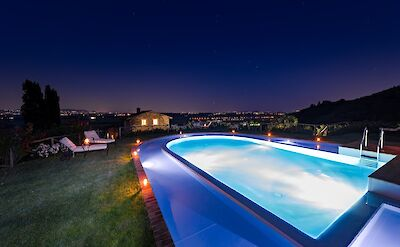Pool By Night 1 Copia