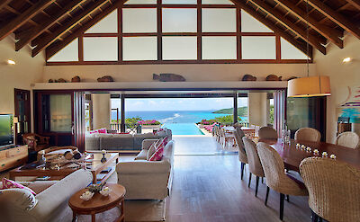 New Shoot Silver Turtle Living Dining With View