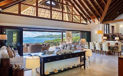 New Shoot Big Blue Ocean Living Dining Room