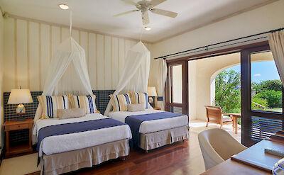 New Shoot Big Blue Ocean Guest Bedroom X 2 Doubles