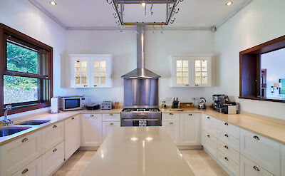 New Shoot Big Blue Ocean Kitchen