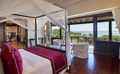 New Shoot Big Blue Ocean Master Bedroom With View