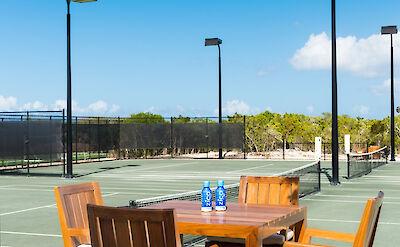 M Amanyara Tennis Courts