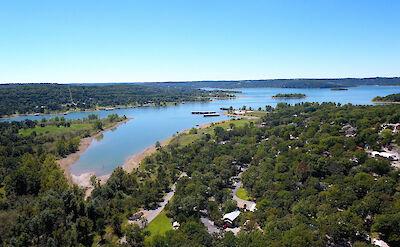 Table Rock Lake Aerial 1