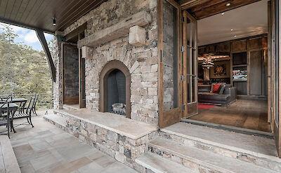 Basement Porch