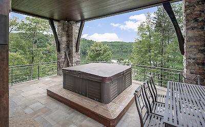 Basement Porch View 2