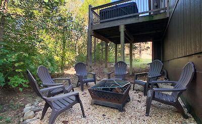 Branson Family Retreats Natures Deck