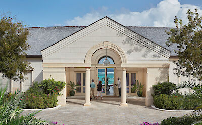 Canouan Hotel Entrance