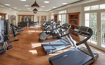 Canouan Luxury Spa Fitness Centre